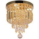 olcso Asztali dekor lámpa-3-Light Kristály Mennyezeti lámpa Háttérfény - Kristály, Az izzó tartozék, A tervezők, 110-120 V / 220-240 V LED fényforrás / 5-10 ㎡