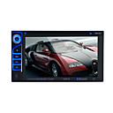 halpa DVD-soittimet autoon-autoradioääni 2 din 6.2 tuuman LCD-kosketusnäyttö multimediatiedosto dvd-soitin bluetooth