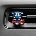 abordables Artículos de Fiesta-purificador de aire automotor material del metal del silicón de la historieta del superhombre del ornamento del perfume del coche