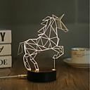 olcso Asztali dekor lámpa-Dekorációs lámpa LED éjszakai fény USB fények-0.5W-USB Dekoratív - Dekoratív