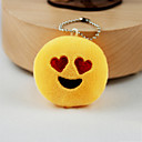 cheap Keychains-Keychain Jewelry Yellow Other Circular Adorable Unisex