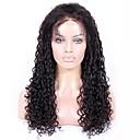 olcso Emberi hajból készült parókák-Remy haj 360 Frontális Paróka Brazil haj Paróka Copf 150% 180% Haj denzitás 100% Szűz A feldolgozatlan Női Rövid Hosszú Emberi hajból készült parókák Premierwigs