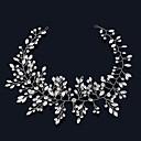 baratos Alicates-Strass / Liga Headbands / Flores com 1 Casamento / Ocasião Especial / Aniversário Capacete