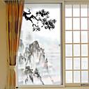halpa Seinätarrat-Art Deco Joulu Ikkunatarra, PVC/Vinyl materiaali ikkuna Decoration Olohuone