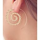 cheap Earrings-Women's Hoop Earrings - Heart Personalized, Luxury Gold / Silver For Casual Going out
