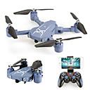 baratos Quadicópteros CR & Multirotores-RC Drone HC629W 4CH 6 Eixos 2.4G Com Câmera HD 0.3MP Quadcópero com CR Retorno Com 1 Botão / Auto-Decolagem / Acesso à Gravação em Tempo