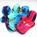 cheap Vanity Lights-Dog Hoodie Dog Clothes Geometic Fuchsia / Green / Blue Polar Fleece Costume For Pets Casual / Daily