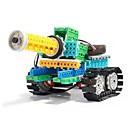 baratos Quadicópteros CR & Multirotores-Robô Blocos de Construir Tanque Brinquedos Tanque Militar Simples Controlo Remoto Educação Elétrico Faça Você Mesmo Plástico Suave