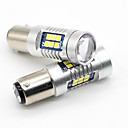 cheap Car Tail Lights-SO.K 2pcs 1157 Truck / Car Light Bulbs 7 W SMD 3030 800 lm Tail Light