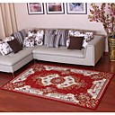 baratos Tapetes-Os tapetes da área Modern Poliéster, Retângular Qualidade superior Tapete / Não Skid