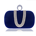 cheap Clutches & Evening Bags-Women's Bags Polyester Clutch Buttons Blue / Black / Purple