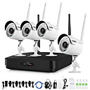 cheap Indoor IP Network Cameras-SANNCE® 1080P HD Wireless Video Security System with 4pcs Cameras