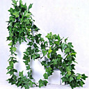 cheap Artificial Plants-1 Branch Polyester Plants Wall Flower Artificial Flowers