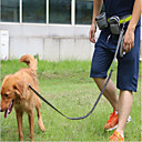 cheap Dog Collars, Harnesses & Leashes-Cat Dog Leash Hands Free Leash Trainer Reflective Portable Breathable Adjustable Solid Nylon Black Gray Red