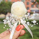 "cheap Wedding Flowers-Wedding Flowers Boutonnieres Wedding Tulle Bead 2.36""(Approx.6cm)"