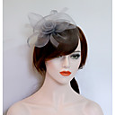 cheap Party Headpieces-Net Fascinators / Hats with 1 Wedding / Party / Evening Headpiece