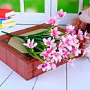tanie Sztuczny kwiat-Sztuczne Kwiaty 2 Gałąź Nowoczesny Orchidea Bukiety na stół