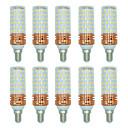 olcso LED Szpotlámpák-BRELONG® 10pcs 16 W 1300 lm E14 LED kukorica izzók T 84 led SMD 2835 Meleg fehér Fehér Dual Light Source Color AC 220-240V