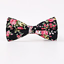 cheap Travel Comfort-Men's Polyester Bow Tie Print