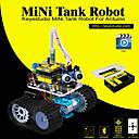 cheap Sensors-Keyestudio DIY Mini Tank Smart Robot Car Kit for Arduino Robot Starter  ManualPDF Installation VideoDemo Video5 Projects