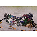 cheap Party Headpieces-Lace Headwear Masks with Floral 1pc Special Occasion Halloween Party / Evening Headpiece