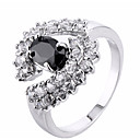 cheap Rings-Women's Cubic Zirconia Knuckle Ring / Engagement Ring - Zircon 6 / 7 / 8 Black For Wedding / Party / Birthday