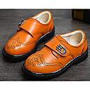 preiswerte Jungenschuhe-Jungen Schuhe Leder Frühling Komfort Sneakers für Schwarz / Gelb