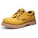 זול נעלי אוקספורד לגברים-בגדי ריקוד גברים עור סתיו / חורף נוחות נעלי אוקספורד צהוב / חום / חום כהה