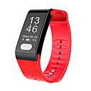 baratos Smartwatches-Pulseira inteligente T6 para iOS / Android Monitor de Batimento Cardíaco / Medição de Pressão Sanguínea / Calorias Queimadas / Tela de toque / Impermeável Podômetro / Aviso de Chamada / Monitor de