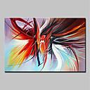 preiswerte Abstrakte Gemälde-Hang-Ölgemälde Handgemalte - Abstrakt Abstrakt Modern Segeltuch