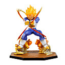 billige Anime actionfigurer-Anime Action Figurer Inspirert av Dragon Ball Vegeta PVC 15 cm CM Modell Leker Dukke