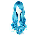 cheap Lolita Wigs-Lolita Wigs Classic Lolita Dress Blue Lolita Lolita Wig 70 CM Cosplay Wigs Solid Wig For
