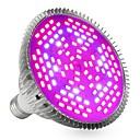preiswerte LED Pflanzenlampe-YWXLIGHT® 1pc 24W 2400-2500lm E27 Wachsende Glühbirne 120 LED-Perlen SMD 5730 Dekorativ Lila 85-265V