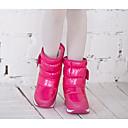 preiswerte Mädchenschuhe-Mädchen Schuhe PU Winter Schneestiefel Stiefel für Schwarz / Purpur / Fuchsia