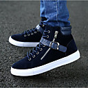 cheap Men's Sneakers-Men's Fabric Spring / Fall Comfort Sneakers Black / Blue