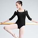 cheap Modern Shoes-Ballet Tops Women's Performance Tulle 3/4 Length Sleeve Top