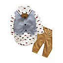 cheap Baby Boys' Clothing Sets-Baby Boys' Print Long Sleeve Cotton Clothing Set