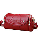 cheap Coin Purse-Women's Bags Cowhide Crossbody Bag Zipper Red / Purple / Dark Red