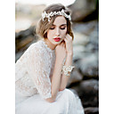 cheap Party Headpieces-Imitation Pearl / Rhinestone Flowers / Head Chain with 1 Wedding / Special Occasion Headpiece