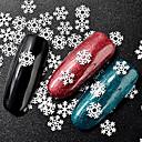 tanie Brokat do paznokci-1szt Biżuteria do paznokci Sztuka zdobienia paznokci Manikiur pedikiur Art Deco / Retro / Klasyczny / Święta Bożego Narodzenia Codzienny