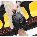 cheap Backpacks-Women's Bags leatherette / PU(Polyurethane) Backpack Zipper Black