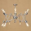 billige Hengelamper-Lysekroner Omgivelseslys galvanisert Metall Mini Stil, Justerbar 110-120V / 220-240V Pære ikke Inkludert / E26 / E27