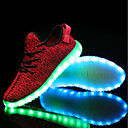 cheap Men's Sneakers-Men's Comfort Shoes Knit Spring, Fall, Winter, Summer Athletic Shoes Black / Gray / Red / EU40