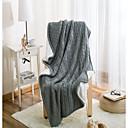 baratos Cobertores e Mantas-Sofá Jogue, Sólido Lã / Algodão Confortável cobertores