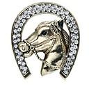 tanie Modne broszki-Męskie Broszki - Imitacja diamentu Zwierzę Klasyczny Broszka Złoty / Srebrny Na Codzienny / Formalny