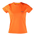 cheap Running Shirts, Pants & Shorts-Arsuxeo Women's Crew Neck 1 pc Running Shirt - Orange, Light Yellow, Sky Blue Sports Top Yoga, Fitness, Gym Short Sleeve Activewear Quick Dry, Antistatic, Breathable Inelastic / Reflective Strips