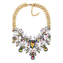 preiswerte Modische Broschen-Damen Halsketten - Erklärung Gold Modische Halsketten Für Party, Bühne