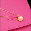 cheap Necklaces-Women's Pearl Pendant Necklace - Imitation Pearl, Shell Gold, Silver Necklace For Daily, Casual
