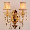 זול פמוטי קיר-סגנון חלוד / בקתה / קאנטרי מנורות קיר זכוכית אור קיר 220V 25W / E14