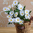 halpa Tekokukka-Keinotekoinen Flowers 1 haara Pastoraali Tyyli Päivänkakkarat Pöytäkukka
